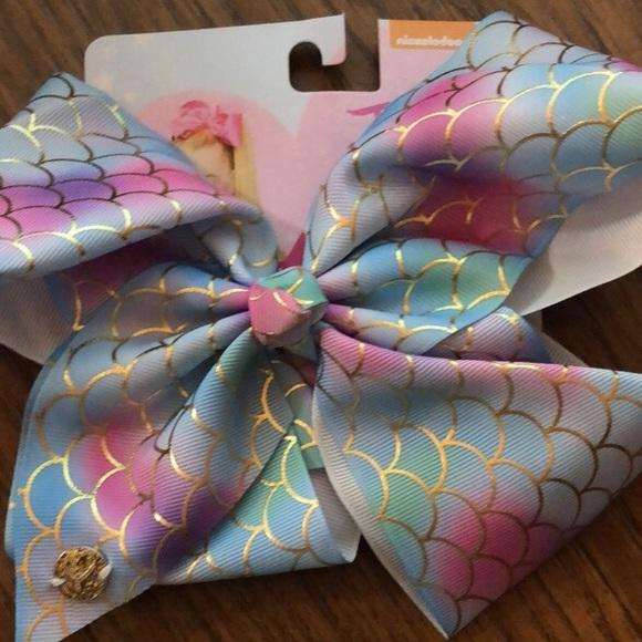 Girls' Accessories Jojo Siwa Mermaid Bow Nwt Kids' Clothing, Shoes & Accs